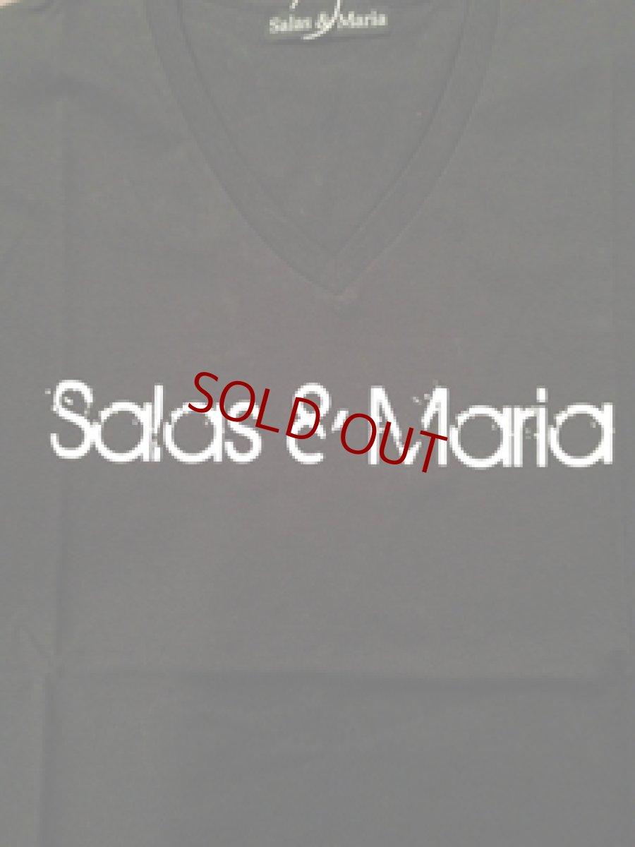 画像1: Salas & Maria  V Neck T-SHIRTS 枚数・サイズ限定 再発 (1)
