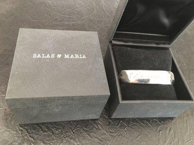 画像2: KENICHI FUJISAKI Desgined SALAS & MARIA Silver 925 Bangle