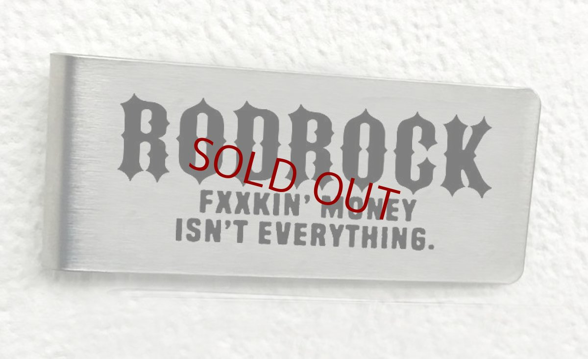 画像1: RODROCK STAINLESS MONEY CLIP (1)