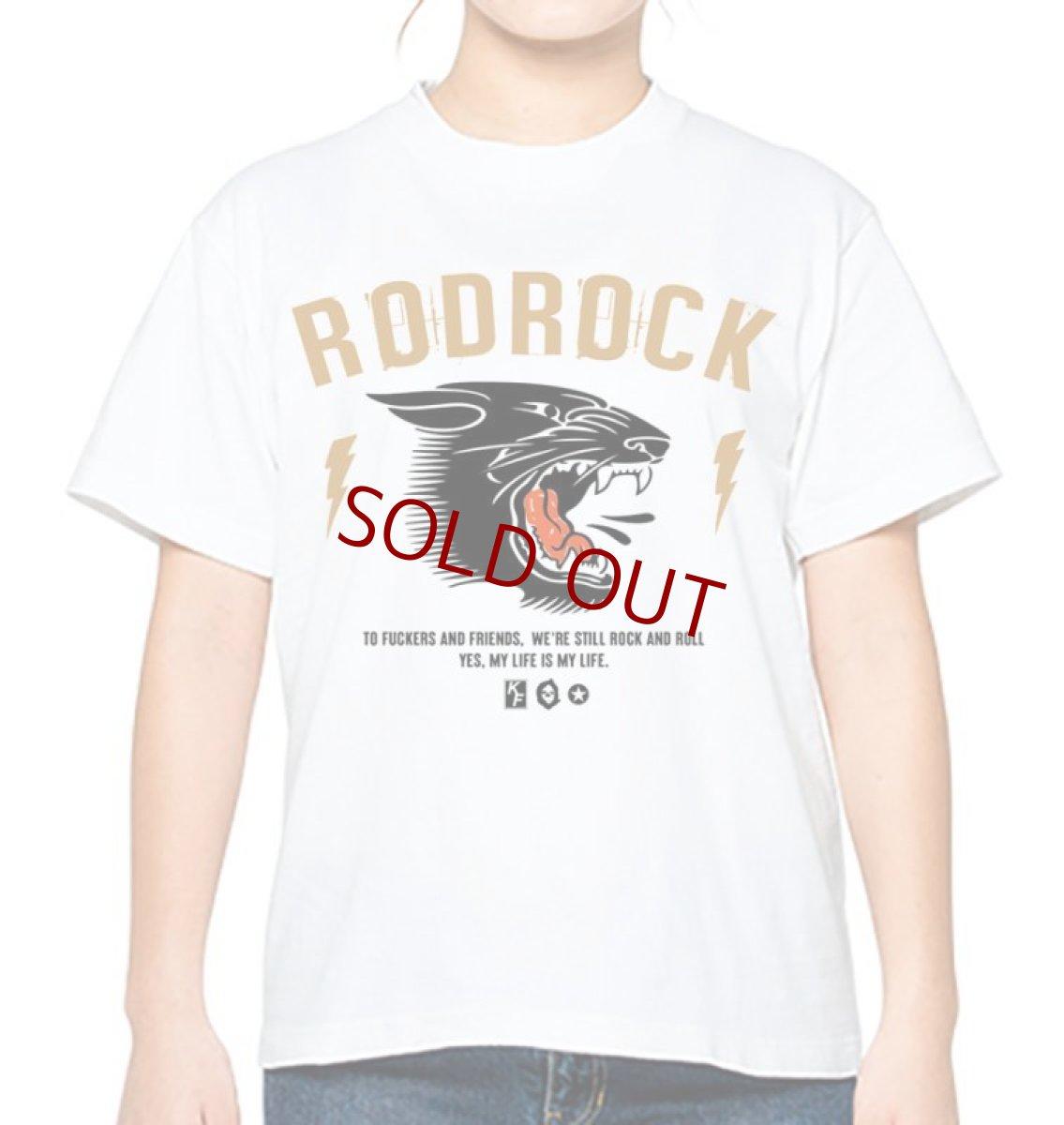 画像1: RODROCK 2021 NEW TEE【受注生産】 (1)