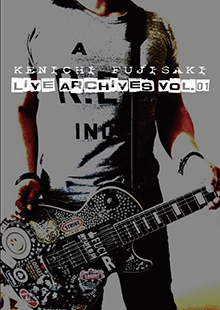 画像1: KENICHI FUJISAKI / LIVE ARCHIVES VOL.01 【DVD】 (1)