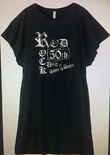 画像1: 藤崎賢一 生誕50周年記念 特製Tシャツワンピース (1)