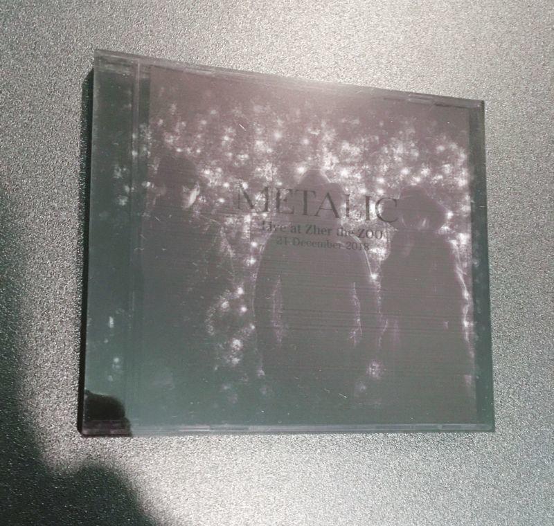 画像1: 【DVD-R】METALIC BOOTLEG DVD / Live at Zher the ZOO 21.DEC.2018 (1)
