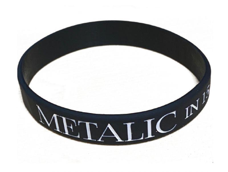 画像1: METALIC Rubber Bracelet (1)