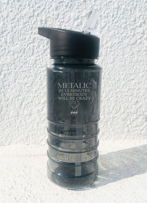 画像1: METALIC CLEAR BOTTLE (1)