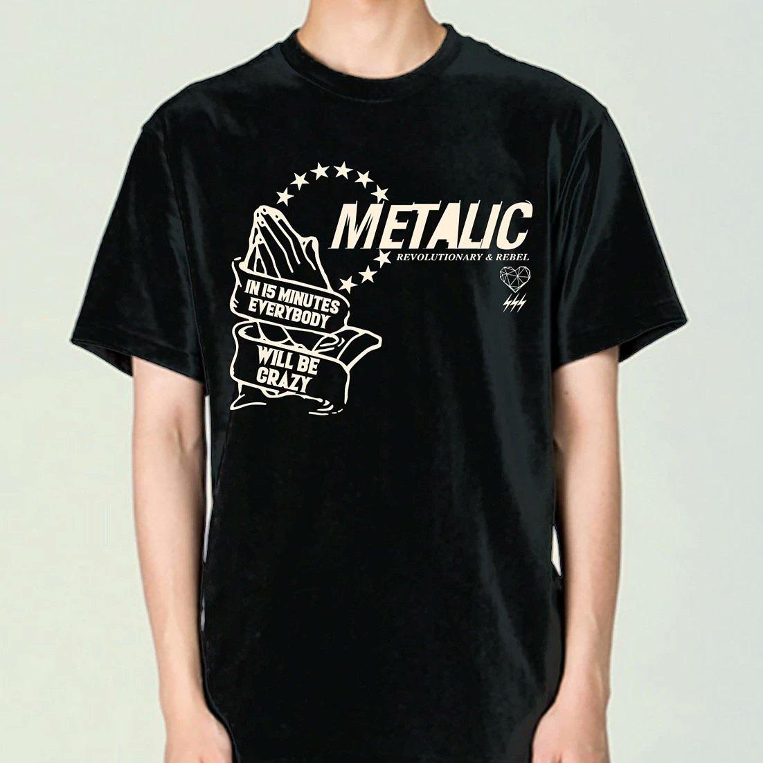 画像1: METALIC 2021 NEW TEE #3 (1)